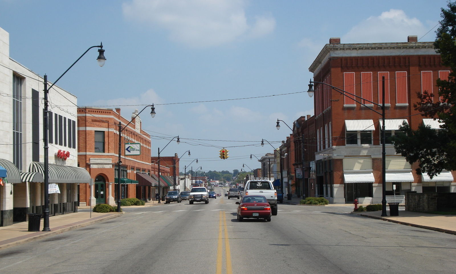 Landmarkhunter Com Okmulgee Downtown Historic District
