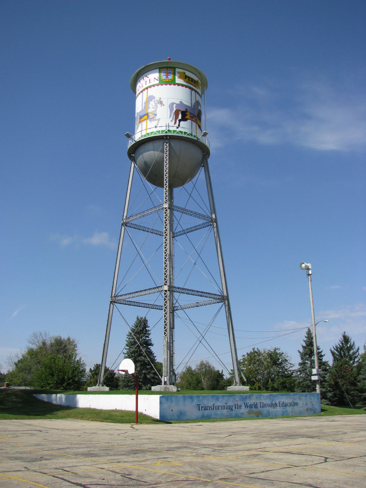 Landmarkhunter Com Waterloo Water Tower
